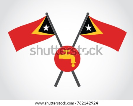 Timor Leste Emblem Water Supply
