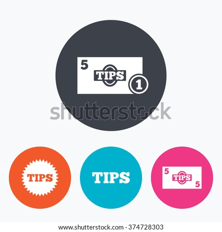 Tip Icon Vector