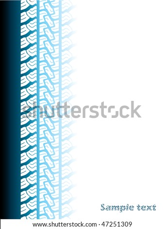 Tire background - stock vector