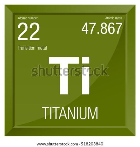 Titanium symbol element number 22 periodic stock vector 518203840 titanium symbol element number 22 of the periodic table of the elements chemistry urtaz Images