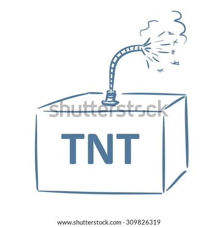 tnt box burning fuse stock photo (photo, vector, illustration 97 ford f-150 fuse panel diagram tnt box with burning fuse