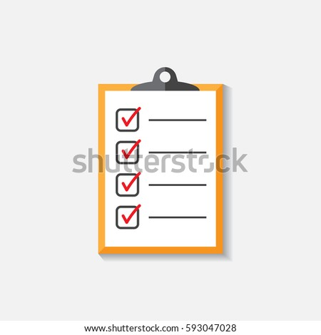 Do List Icon Checklist Task List Stock Vector   Shutterstock