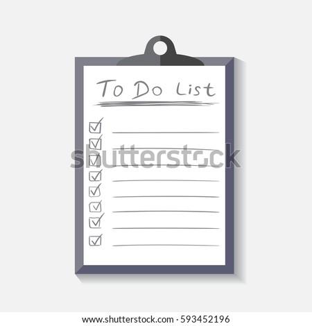 task checklist