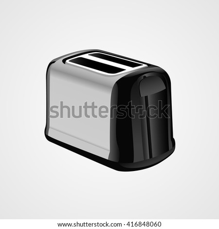 Toaster. Vector drawing isolated