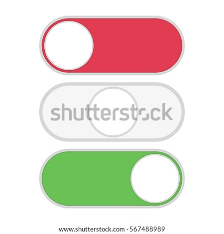 Toggle Switch Icon On Off Position Stock Photo Photo Vector