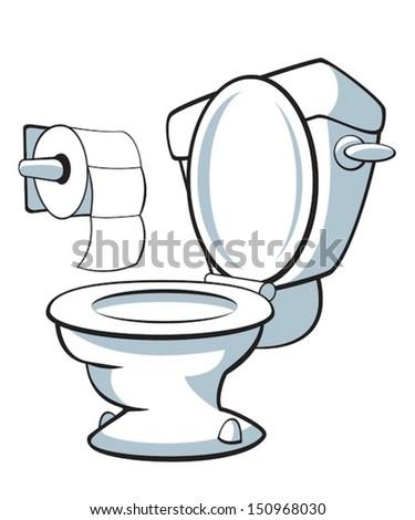 Toilet - stock vector