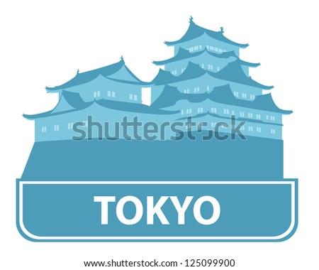 Tokyo symbol - stock vector