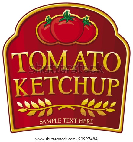 heinz label template - tomato ketchup label stock images royalty free images