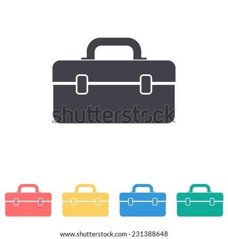 tool box icon - stock vector