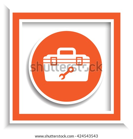 Tool Box vector icon