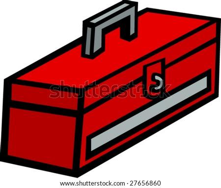 toolbox - stock vector