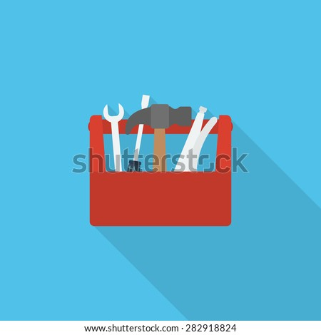 toolbox icon  - stock vector
