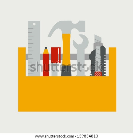 Tools - stock vector