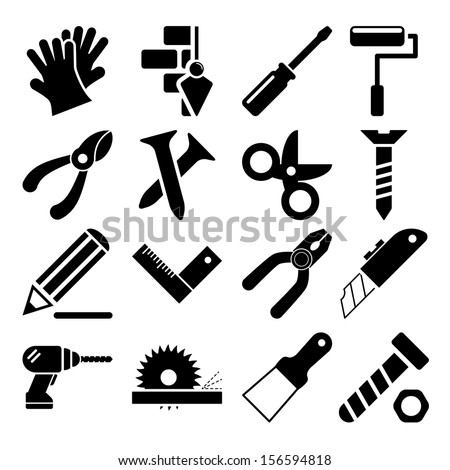 Tools Icons Vol 2 - stock vector