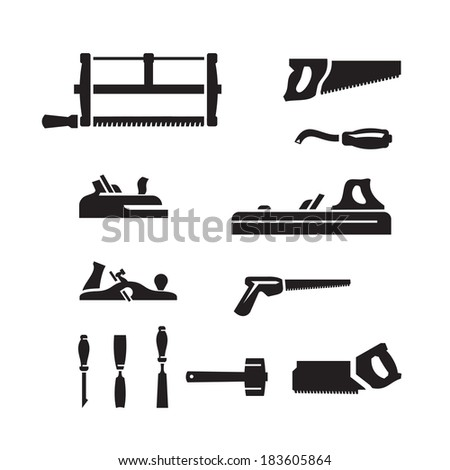 Tools. Vector format - stock vector