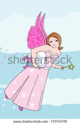 Tooth Fairy - stock vector