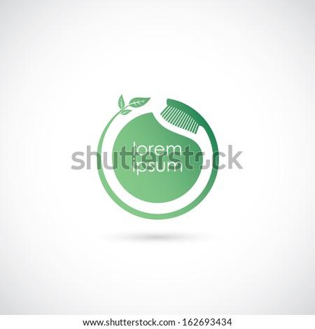 Toothbrush symbol - vector illustration - stock vector