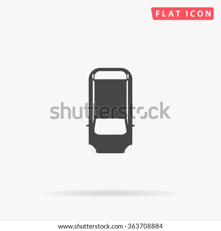 Top view car Icon Vector. Top view car Icon JPEG. Top view car Icon Picture. Top view car Icon Image. Top view car Icon JPG. Top view car Icon EPS. Top view car Icon AI. Top view car Icon Drawing - stock vector