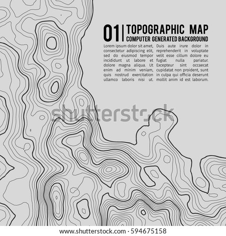 Topographic Map Stock Images RoyaltyFree Images Vectors - Topographical map