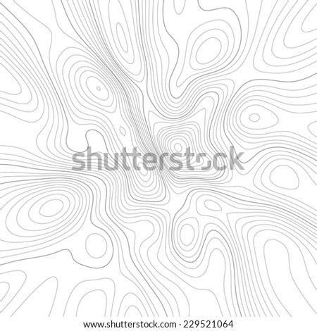 Topographic map. Abstract vector background.