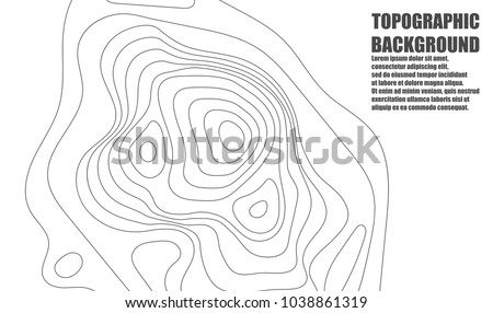 Topographic map contour background topo map vectores en stock topographic map contour background topo map with elevation contour map vector geographic world gumiabroncs Images
