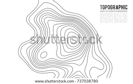 Topographic map contour background topo map stock vector 737038780 topographic map contour background topo map with elevation contour map vector geographic world gumiabroncs Images