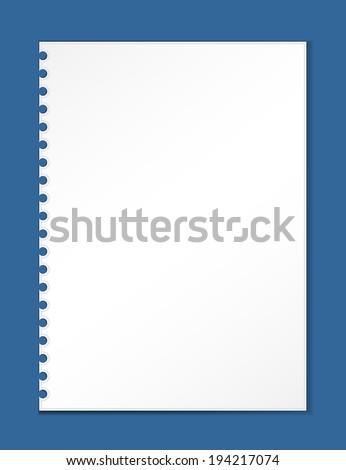 Torn Paper. vector illustrations - stock vector