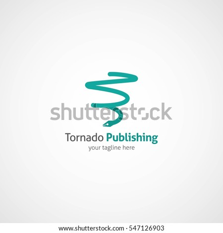 Tornado Logo Design Template Vector Illustration Stock Vector ...