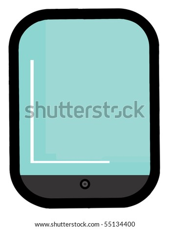 Touch Pad - stock vector