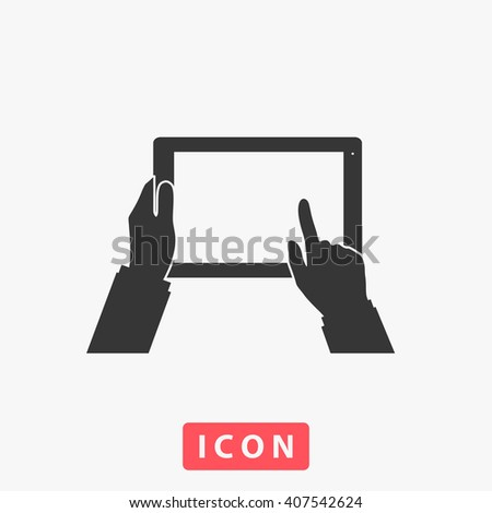 touch screen Icon. touch screen Icon Vector. touch screen Icon Art. touch screen Icon eps. touch screen Icon Image. touch screen Icon logo. touch screen Icon Sign. touch screen Icon Flat - stock vector