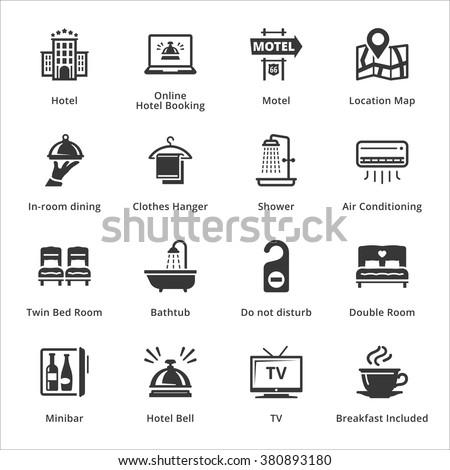 Tourism & Travel Icons - Set 1  - stock vector