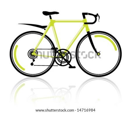 Toxic Sport Bike - stock vector