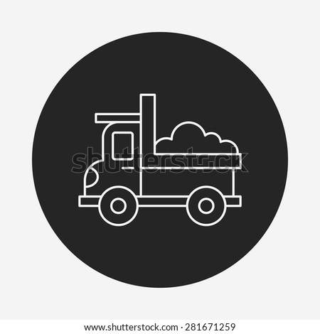 Toy Car Icon Stock Vector 281671259 Shutterstock