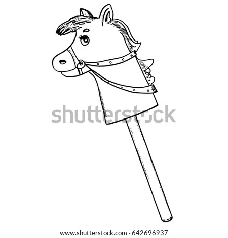 Stick-horse Stock Images, Royalty-Free Images & Vectors | Shutterstock