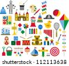 Toys - stock vector