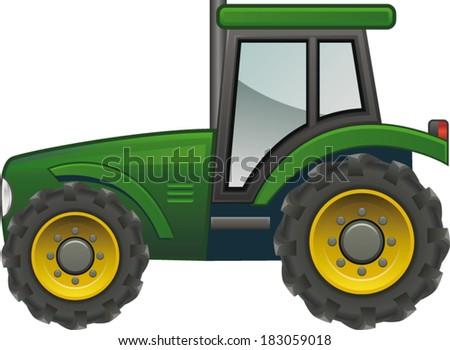 Tractor icon stock photos illustrations and vector art
