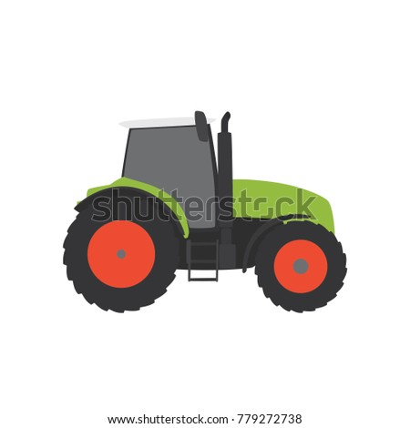 Tractor icon, vector illustration design. Agriculture collection.