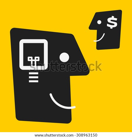 Trading - stock vector