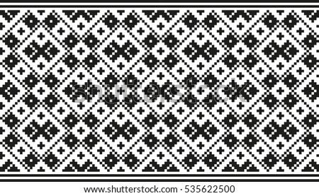 Traditional baltic pattern