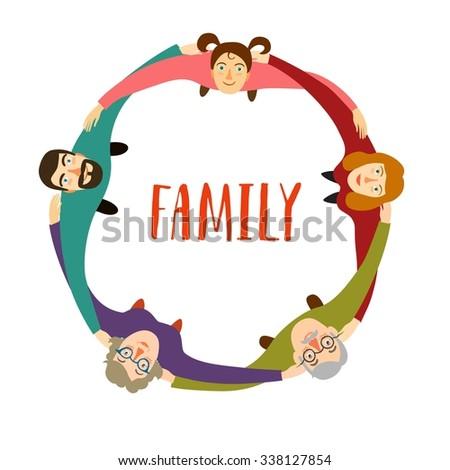 Family Hugging Clipart   www.pixshark.com - Images ... Hugging Family Clipart