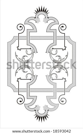 TRADITIONAL ORNAMENT - stock vector