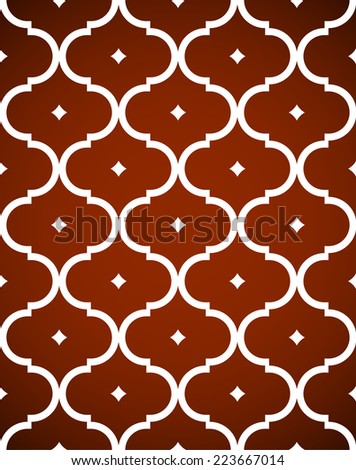 Traditional Ornamental Geometric Seamless Pattern Vector Illustration - stock vector
