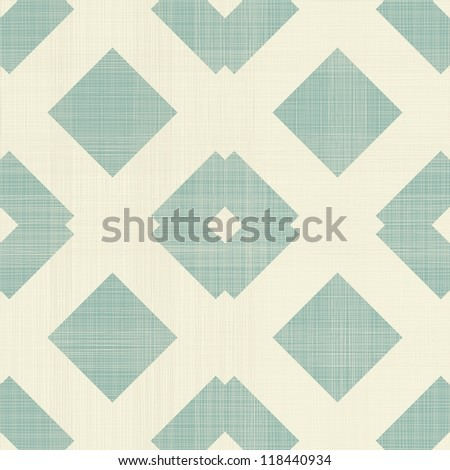 traditional retro geometric seamless pattern - stock vector