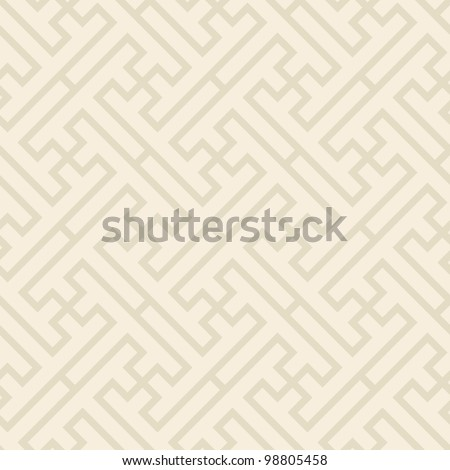 Traditional Vietnamese seamless patter- vector illustration- drop the pattern in the swatches palette and use it for any of your shapes - stock vector