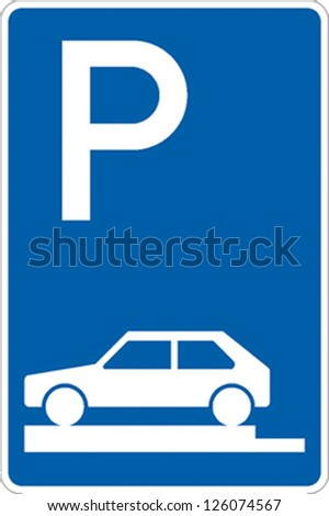 traffic sign parking