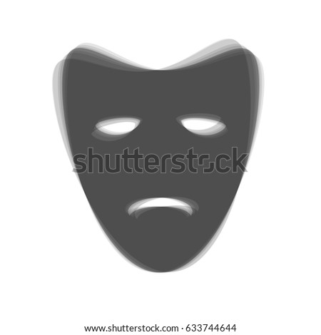 Vector Lone Ranger Superhero Burglar Mask Stock Vector ...