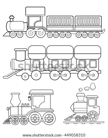 Caboose Template For Coloring House Design And