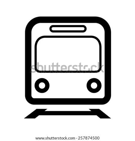 Train / subway icon   - stock vector