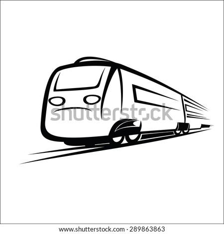 railroad depot clip art train logo stock images royalty free images vectors shutterstock