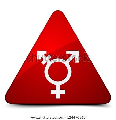 Transgender Hazard - stock vector